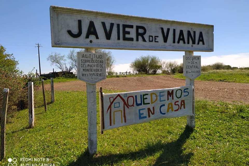 EL MENSAJE PARA LOS POBLADORES DE JAVIER DE VIANA.