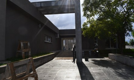 ÚLTIMOS DETALLES DE CONSTRUCCIÓN EN EL HOGAR TRANSITORIO DEL HOSPITAL DE ARTIGAS.