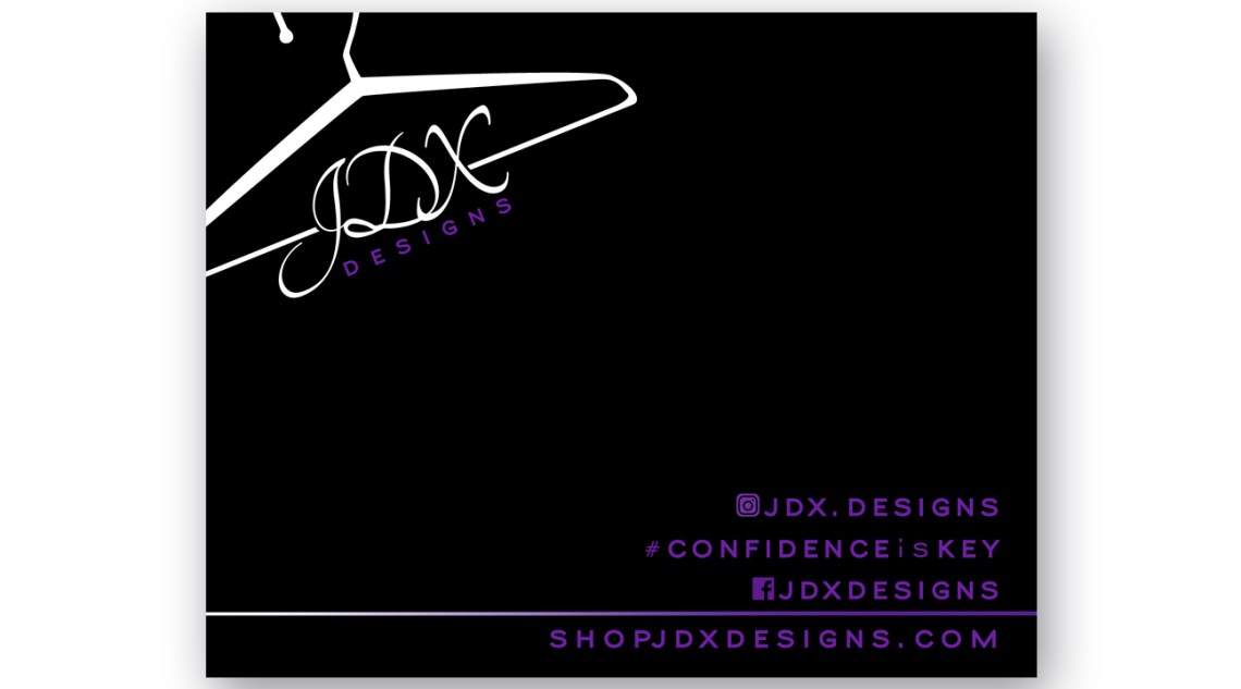 Artigiana Communication Designs JDX Designs card for shipping packages