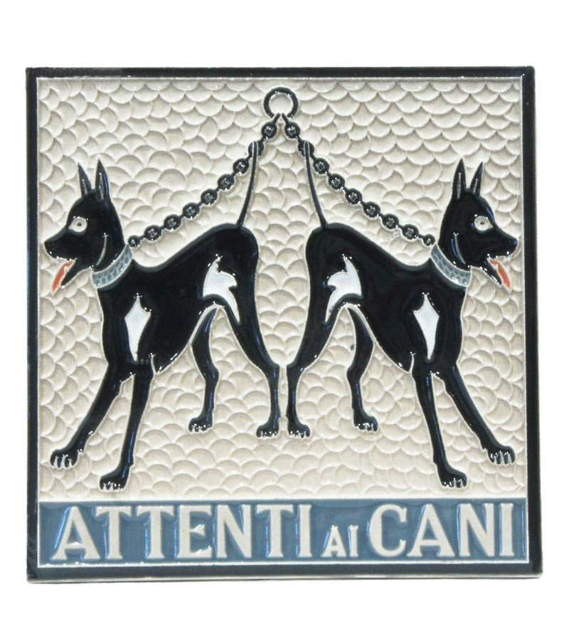 ceramic tile beware to the dogs