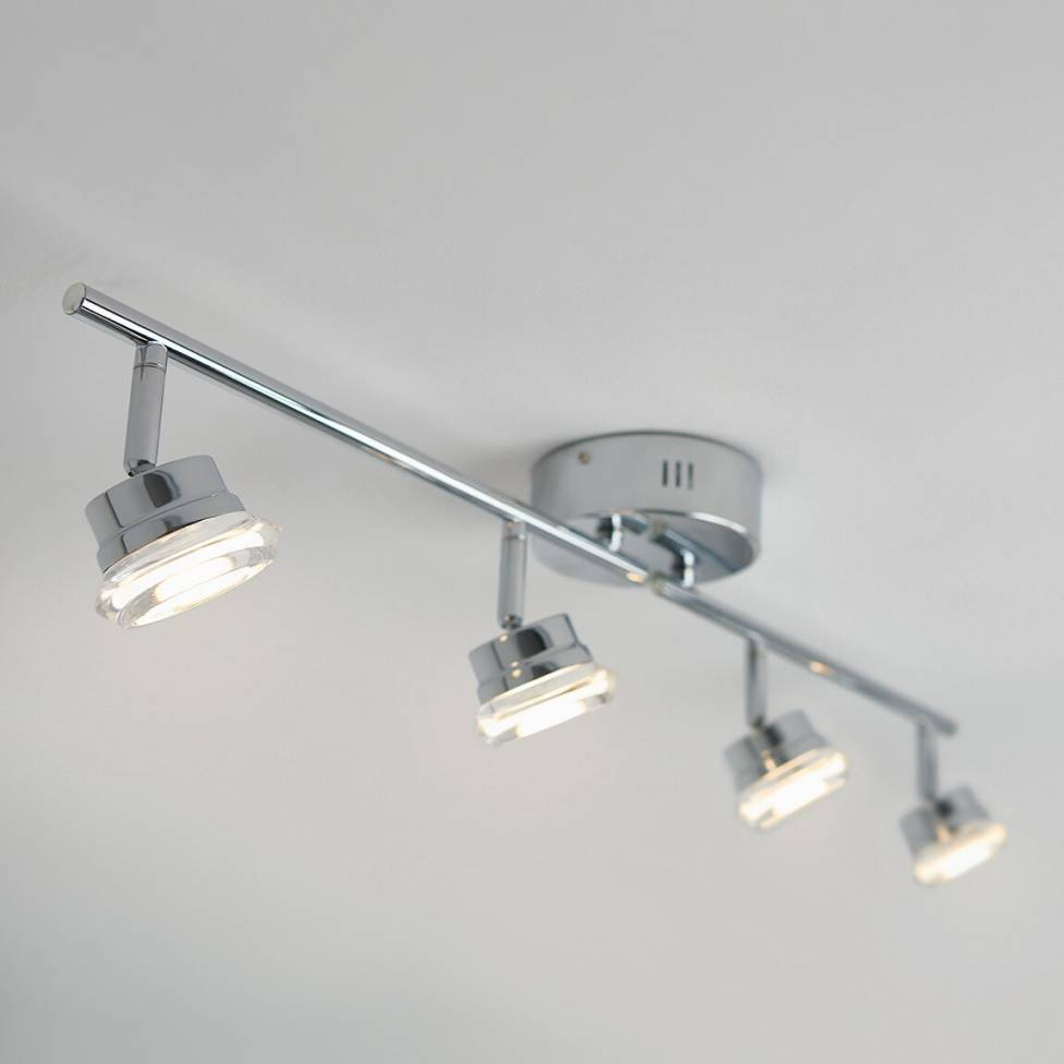 praxis 4 light integrated led track light