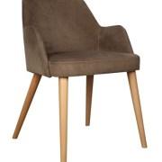 torna ayaklı ahşap sandalye