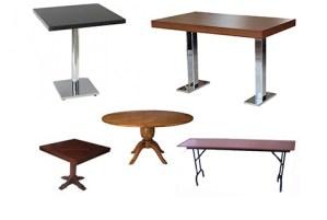 Ahşap masalar
