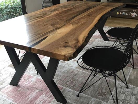 Doğal ağaç masa