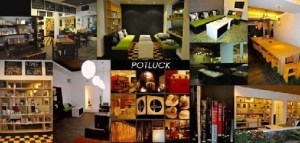 Potluck Coffee Bar and Library