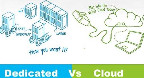 dedicated vs cloud