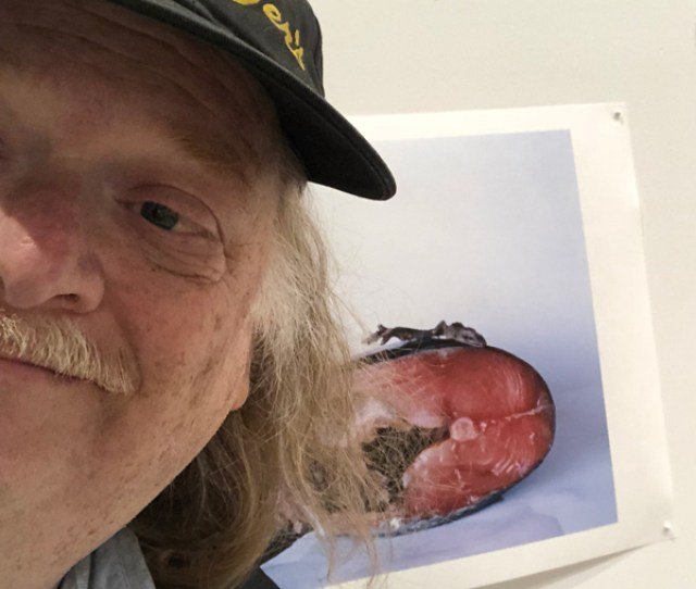Gold W Salmon Out To The Galleries With Times Foodie Jonathan Gold