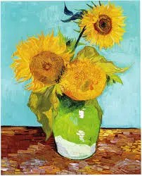 paint and sip art in bloom sunflowers paint party