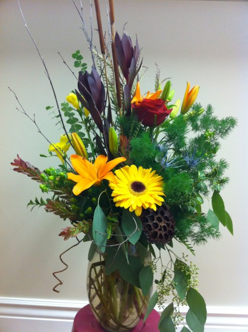 Fall Vased Arrangement