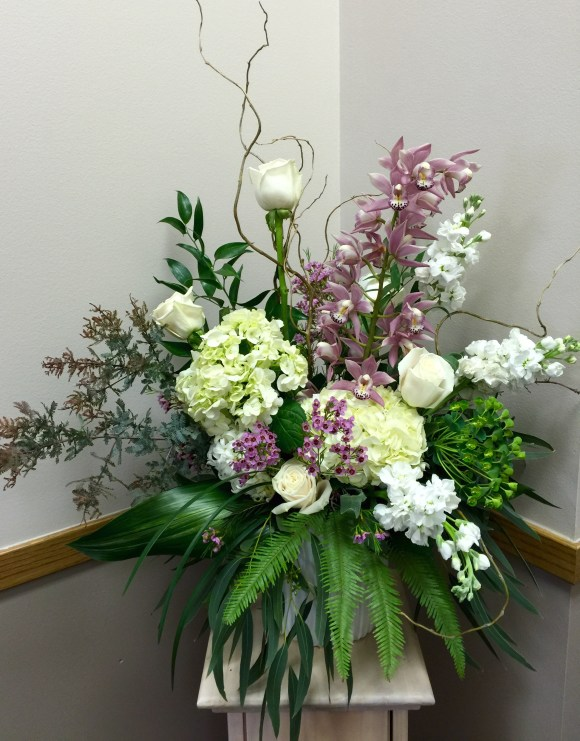 Orchids_hydrangeas