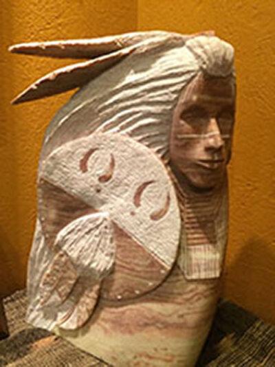 Sculpture-Hunter Warrior