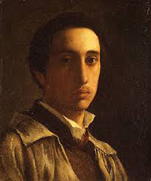 Self-Portrait by Degas