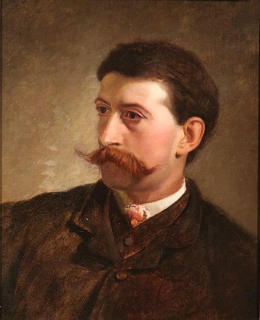 Winslow Homer Self-Portrait-1865