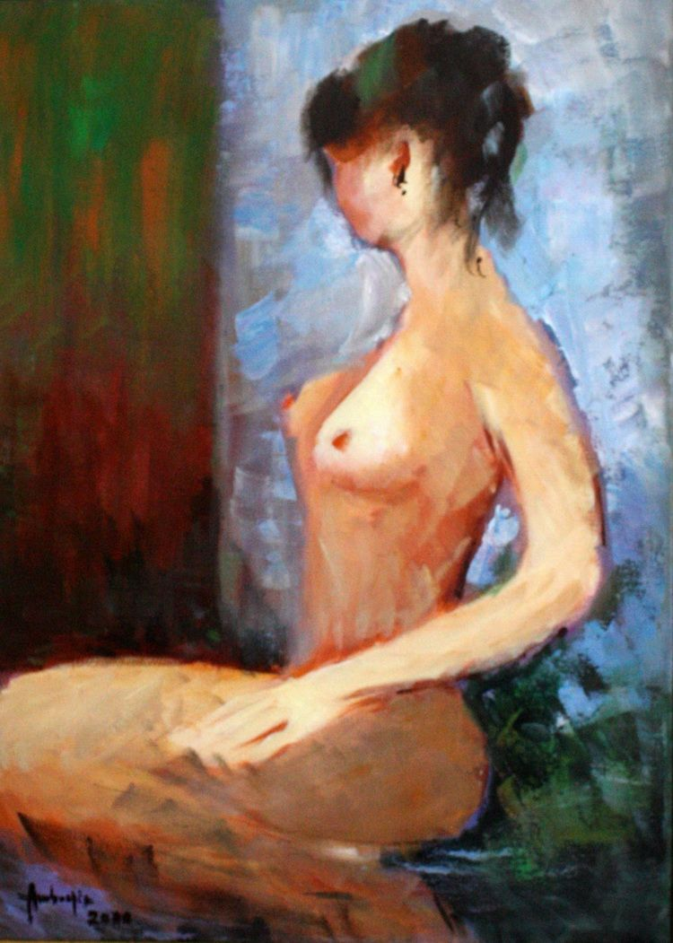 Ambrozie Nicolae- Nud