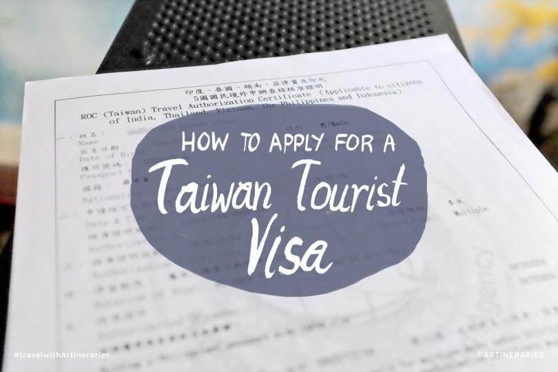 Taiwan Visa Title