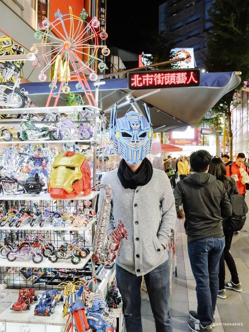 Shopping at Ximending