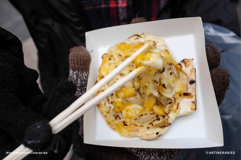 Yummy Myeongdong street food / Photo by Ivan Angelo