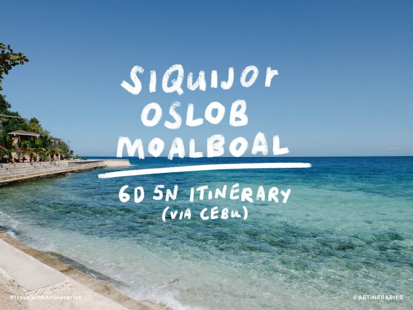 Siquijor-Oslob-Moalboal-6D5N-Itinerary