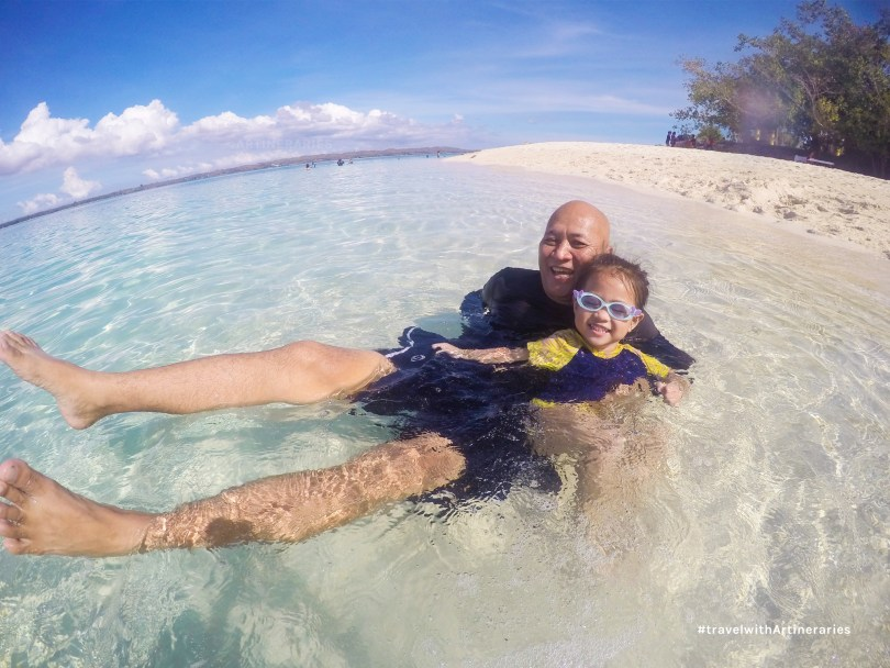 The calm waters of Virgin Island is perfect for the kids and seniors :-)