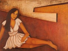 Sangeeta K Murthy Verve 4 Oil on Canvas 36 x 48 Inches