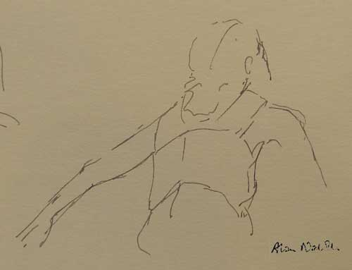 1 minute sketch by Alison Nicholls