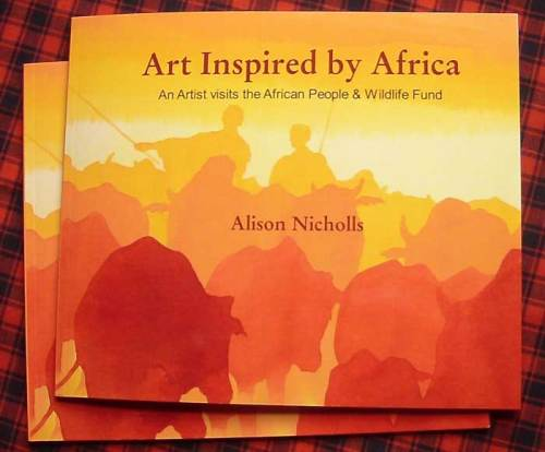 Alison Nicholls' new Book featuring Art from Tanzania