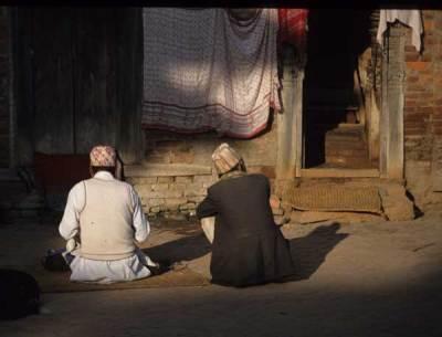 Bhaktapur evening. Photo by Alison & Nigel Nicholls