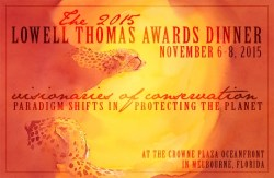 Sun Spots by Alison Nicholls: Explorers Club Lowell Thomas Awards Dinner