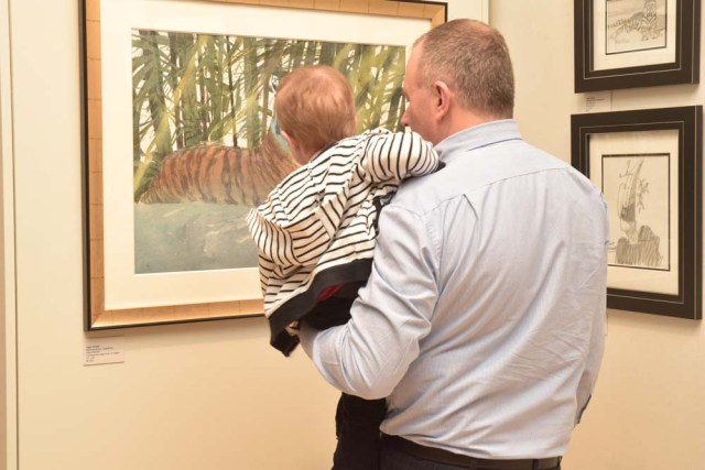 Wildlife Art: Field to Studio at the Flinn gallery, Greenwich, CT
