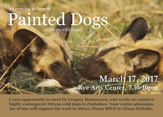 Save the Date for Painted Dogs