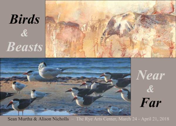Birds & Beasts at the Rye Arts Center 2018