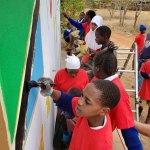 Murals in Tanzania