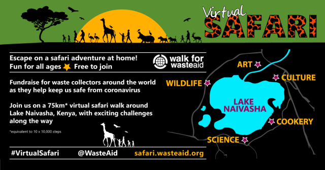WasteAid Virtual Safari