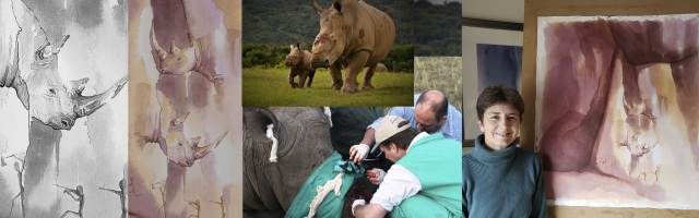 Crash - Rhinos on Endangered Species Day