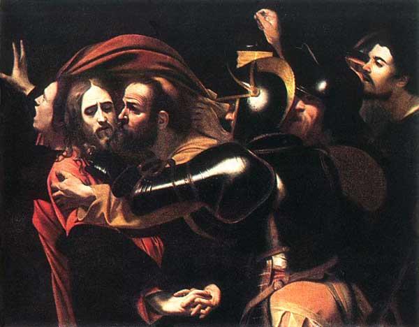 Caravaggio, The Taking of Christ