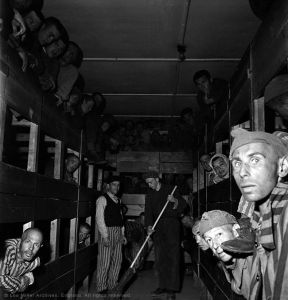 Lee-Miller-Liberated-Prisoners-in-Their-Bunks-Dachau-Germany-1945-©-Lee-Miller-Archives-England-2015.