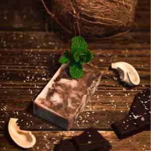 Chocolate Soap | After Eight Mint Soap - Artisan Cosmetics