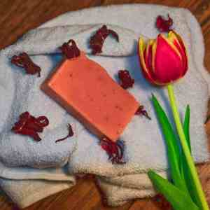 Pink Clay Soap | Facial Cleanser | Wrinkles - Artisan Cosmetics