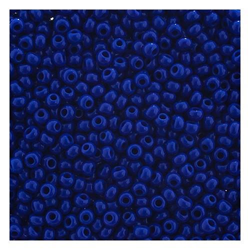 SEEDBEAD OP MED ROYAL BLUE 8/0