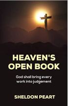 "Alt=""heavens open book sheldon peart"""