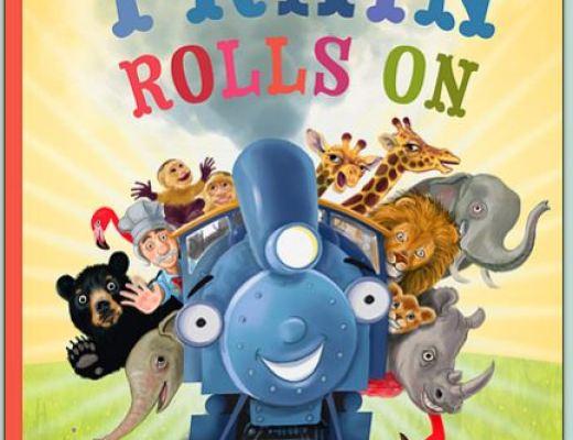 The Train Rolls Onby Jodi Adams – Children's Book