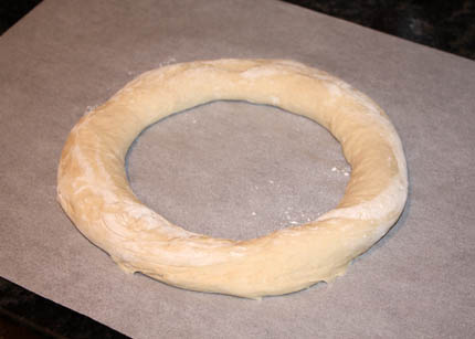 wreath bread