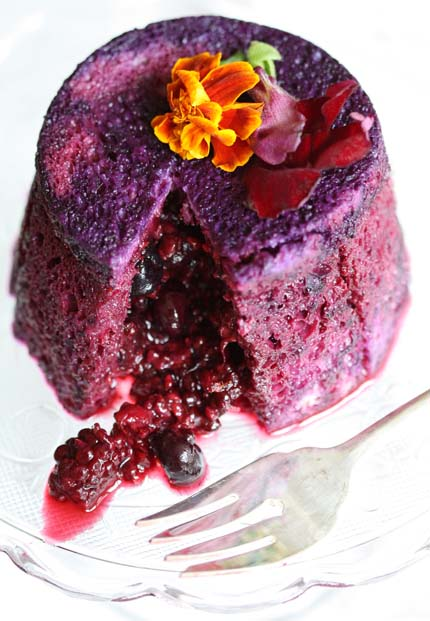 berry pudding