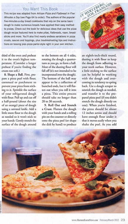Artisan Pizza and Flatbread in Five