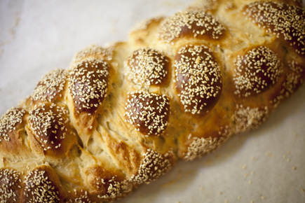 How to: Six Strand Braided Challah   Artisan Bread in Five Minutes a Day