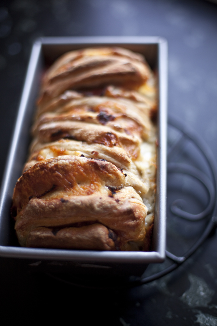 Ham and Cheese Pull-Apart Bread | Artisan Bread in Five Minutes a Day