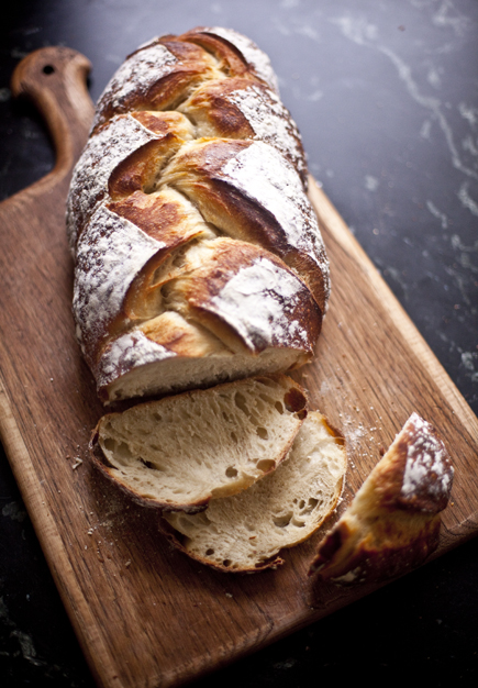 Sliced Braided Peasant Bread   Artisan Bread in Five Minutes a Day