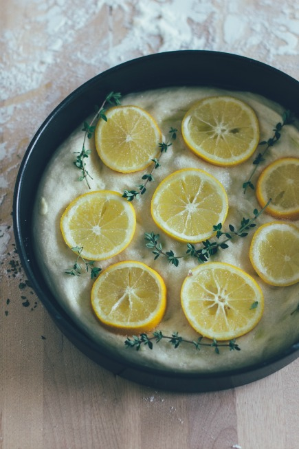 meyer lemon + thyme focaccia | bread in 5