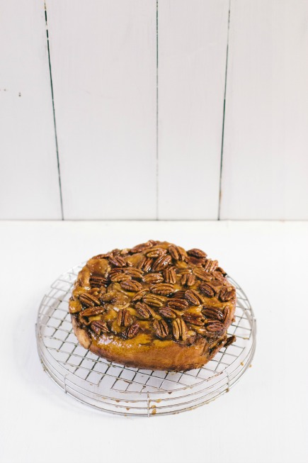 Caramel Apple Brioche Cake for Thanksgiving Breakfast | Artisan Bread in Five Minutes a Day