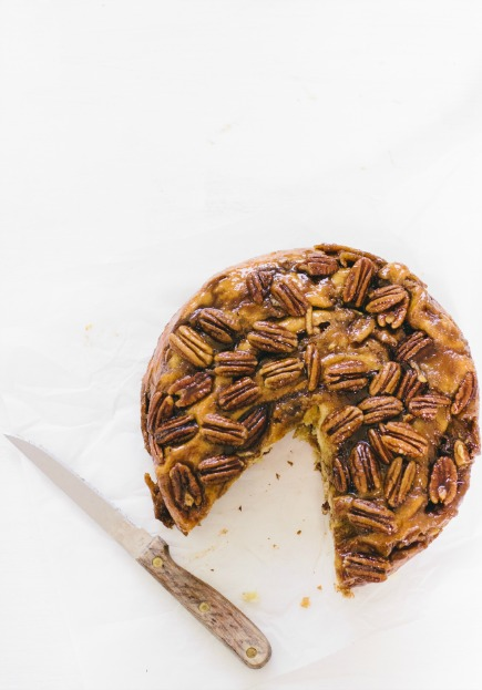 Caramel Apple Brioche Cake for Thanksgiving Breakfast | Artisan Bread in 5 Minutes a Day